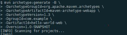 archetype-webapp