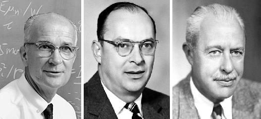 威廉·肖特利、约翰·巴丁、沃尔特·布拉顿