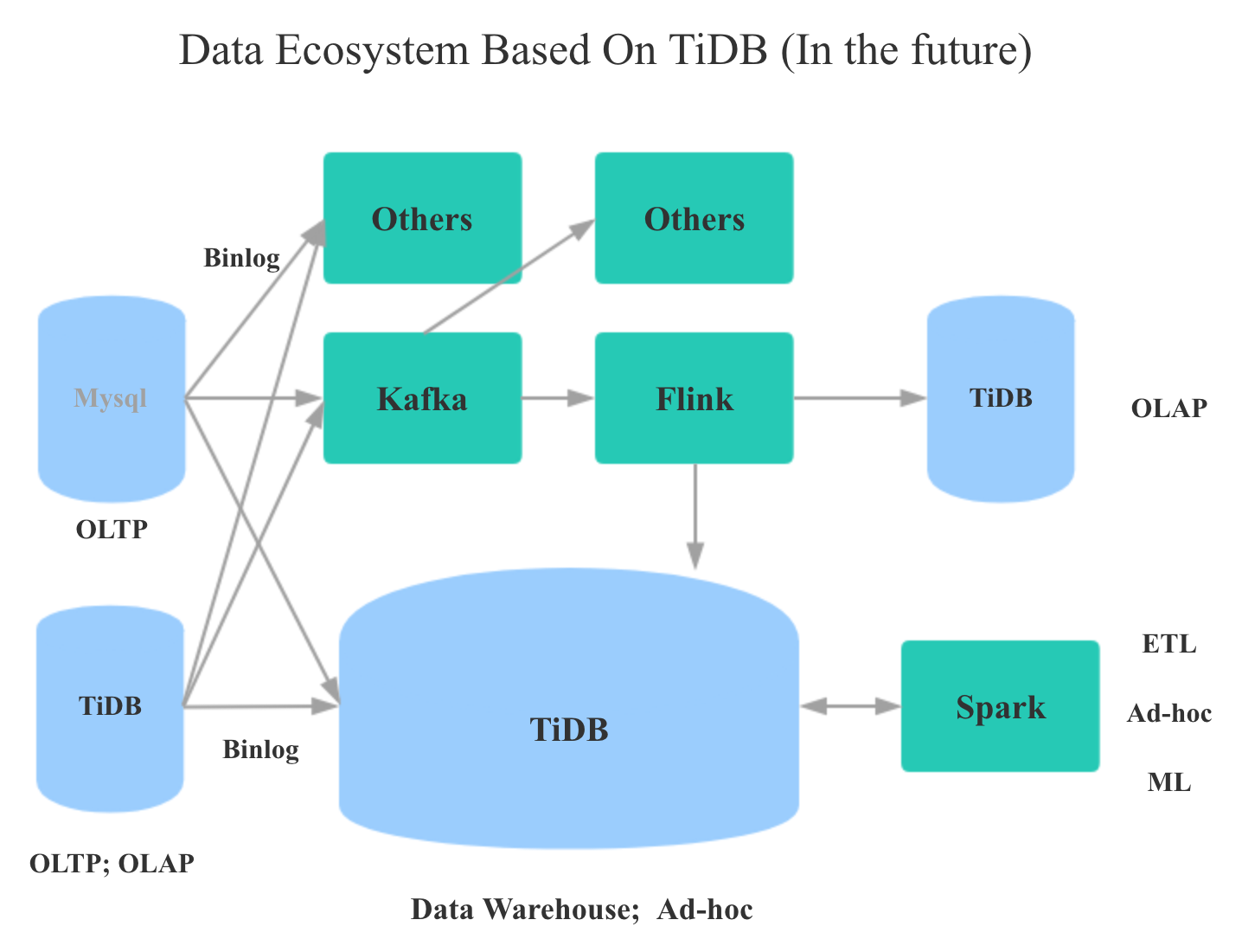 Data Ecosystem Based On TiDB