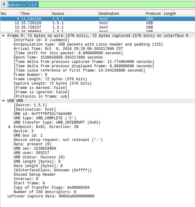 USB 数据包分析-ShaoBaoBaoEr's Blog