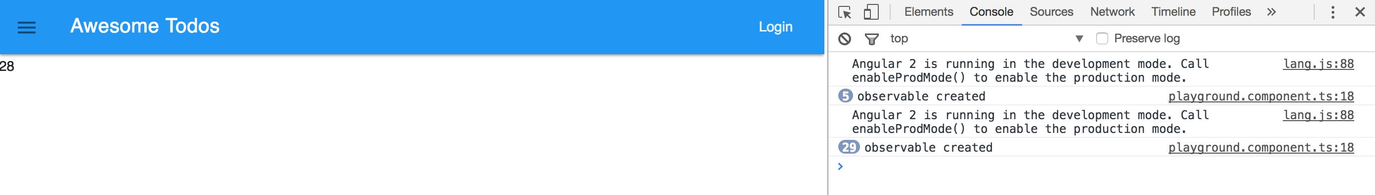 通过onDestory中unsubscribe来防止内存泄露