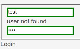 用户不存在的提示