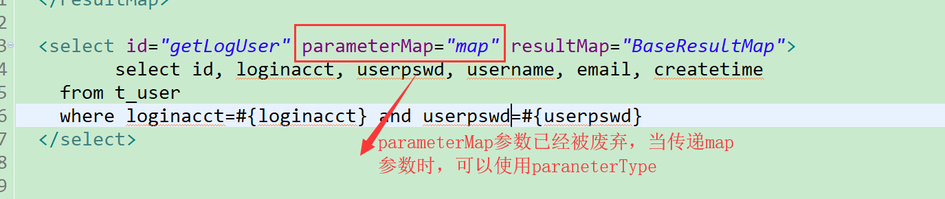 Mybatis(異常): Parameter Maps collection does not contain value